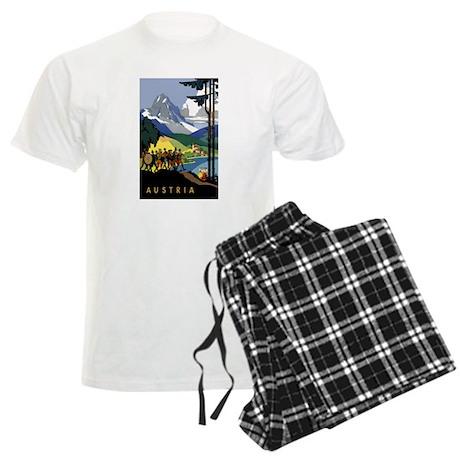 Austria Band Travel Men's Light Pajamas