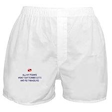 Peeing Scuba Diver Boxer Shorts