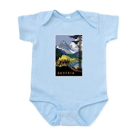 Austria Band Travel Infant Bodysuit