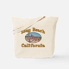 Vintage Long Beach Tote Bag