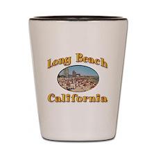 Vintage Long Beach Shot Glass