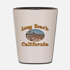 Vintage Long Beach Shot Glass