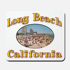 Vintage Long Beach Mousepad