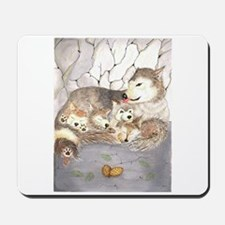 wolf cubs Mousepad