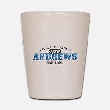 Andrews Air Force Base Shot Glass
