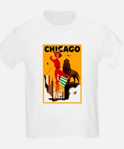Vintage Chicago Travel T-Shirt