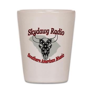 Skydawg Radio Radio Shot Glass