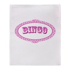 Bingo Throw Blanket