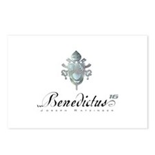 Silver Benedict Coat of Arms : Postcards (Package