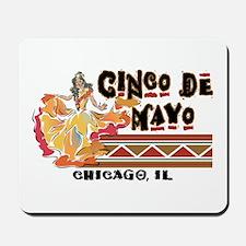 Cinco de Mayo Chicago Mousepad