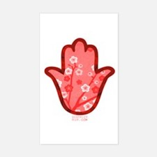 CHAMSA HAND FOR JAPAN Sticker (Rectangle)
