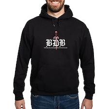 BDB Logo Standard Fit Pullover Dark Hoody