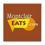Montclair Eats Ceramic Tile Coaster