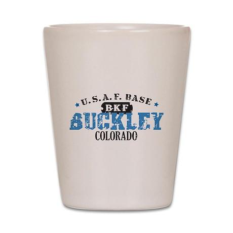Buckley Air Force Base Shot Glass