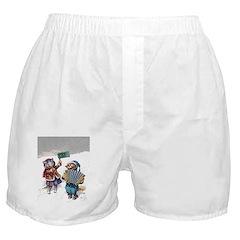 Christmas Cats Boxer Shorts