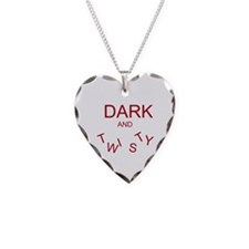 Cute Greysanatomytv Necklace Heart Charm