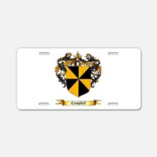 Campbell Shield Aluminum License Plate