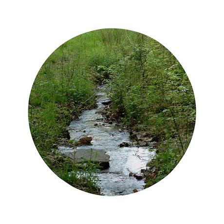 "Green Creek 3.5"" Button"