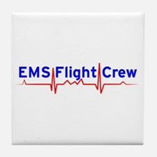 EMS Flight Crew - (same image front & back) Tile C