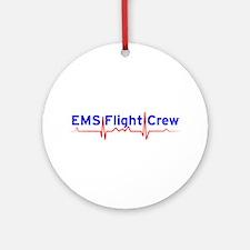 EMS Flight Crew - (same image front & back) Orname