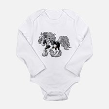 Gypsy Vanner Long Sleeve Infant Bodysuit