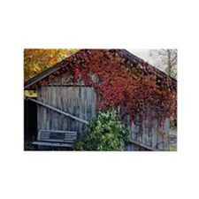Old Barn Rectangle Magnet (100 pack)