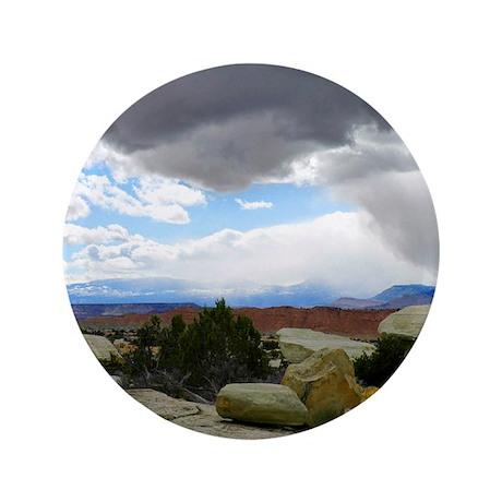 """Desert Canyon 3.5"""" Button (100 pack)"""