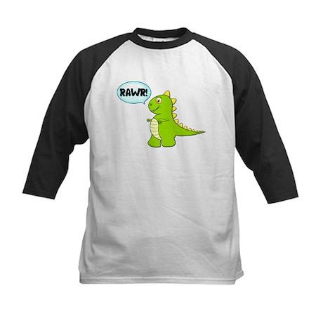 Dino Rawr! Kids Baseball Jersey