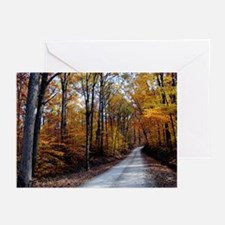 Autumn Road Greeting Cards (Pk of 20)