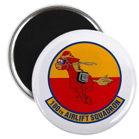180th Airlift Squadron Magnet
