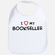 I Love Bookseller Bib