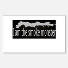 I am the smoke monster Decal