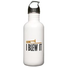 I Blew It Trombone Water Bottle