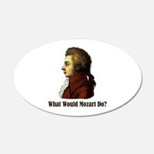 Mozart 22x14 Oval Wall Peel