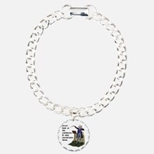 Conductor Charm Bracelet, One Charm