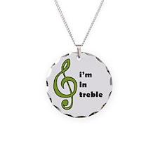 I'm in Treble Necklace