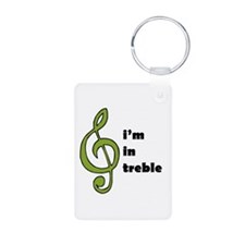 I'm in Treble Keychains