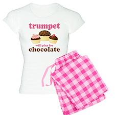 Trumpet Chocolate Music Women's Light Pajamas