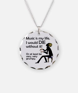 Music Is My Life Necklace