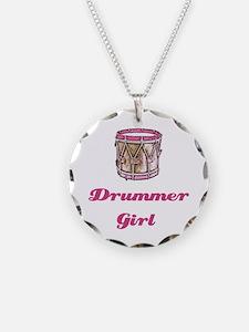 Drummer Girl Necklace