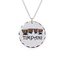 Timpani Necklace Circle Charm