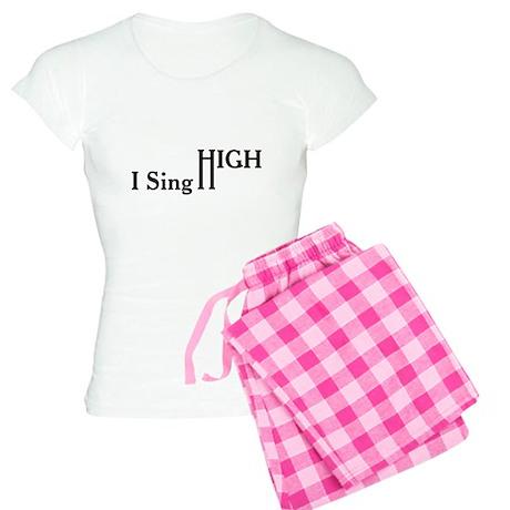I Sing High Women's Light Pajamas