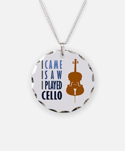 I Played Cello Necklace