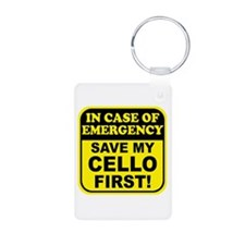 Save My Cello Keychains