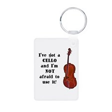 I've Got a Cello Keychains