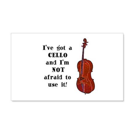 I've Got a Cello 22x14 Wall Peel