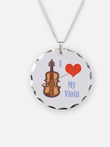 I Love My Viola Necklace