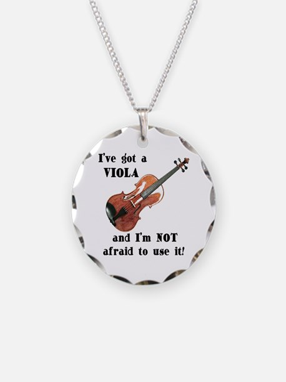 I've Got a Viola Necklace