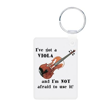 I've Got a Viola Aluminum Photo Keychain