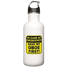 Save My Oboe Water Bottle